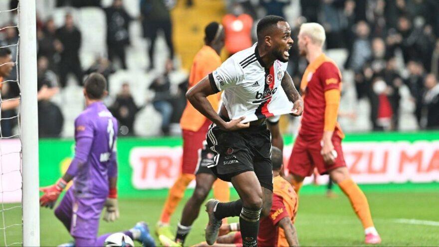 Beşiktaş, Galatasaray'ı Larin ile devirdi: 2-1