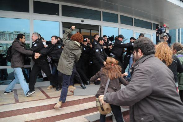 Trakya Üniversitesinde arbede