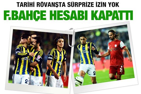 Fenerbahçe - Pendiksporu yendi