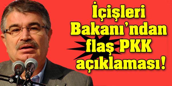 İçişleri Bakanından PKK açıklaması