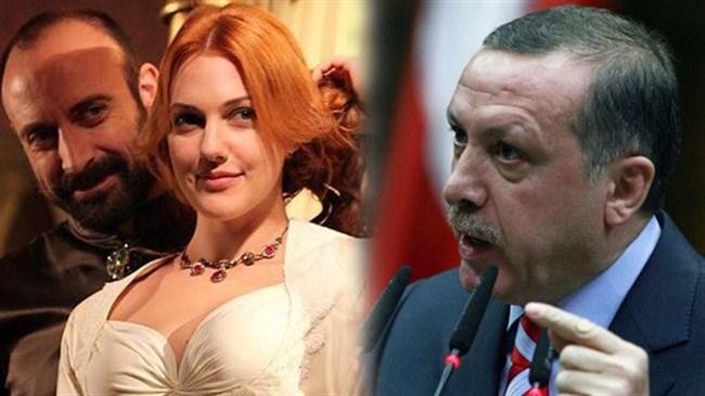 Erdoğandan ikinci Muhteşem Yüzyıl çıkışı