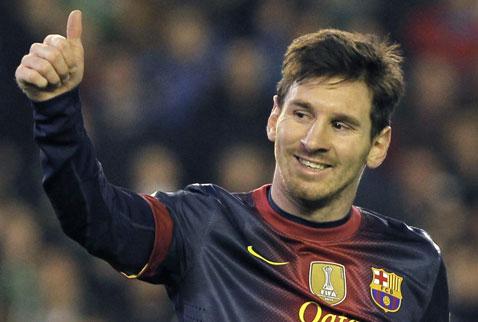 Messi yine tarihe geçti