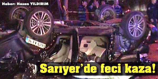 Sarıyer'de kaza!