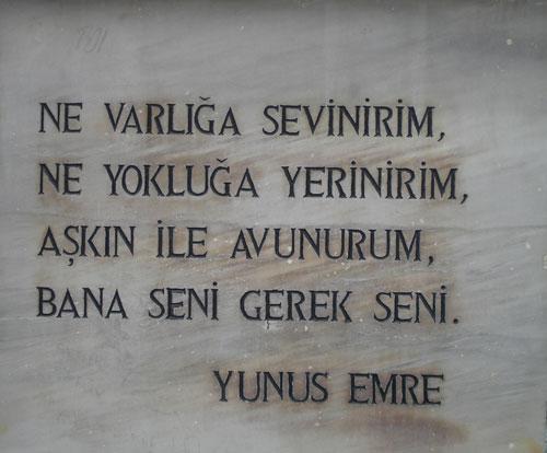 Yunus Emreye sansür