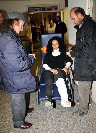 Erkin Koray karı kocayı hastanelik etti
