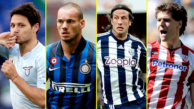 Kanaryada gündem: Zarate, Reyes, Olsson, Ziegler, Sneijder, Llorente