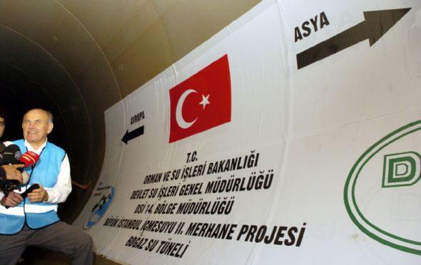 İstanbula burası su taşıyacak