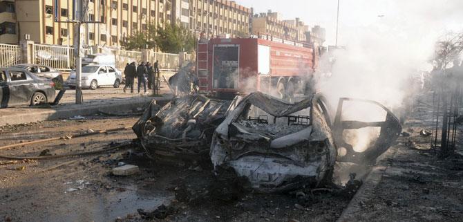 Halep Üniversitesinde katliam