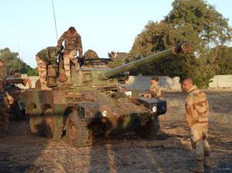 Fransız askerleri Malide çatışmaya girdi