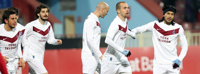 Trabzonspor kupada moral buldu