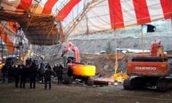 Halı sahanın duvarı çöktü: 7 ölü