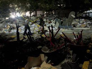 Binada facia: 25 ölü, 100 yaralı