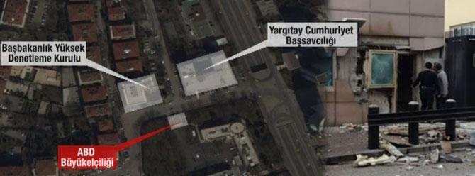 ABD Büyükelçiliğine intihar saldırısı