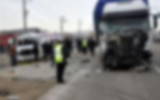 Trafik faciası: 7 ölü