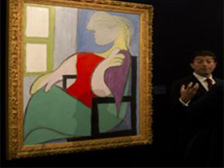 Picassoya 44,9 milyon dolar