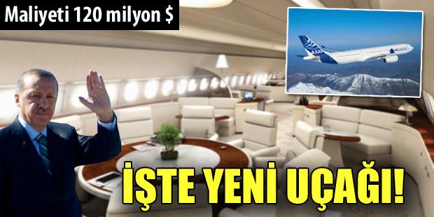 Başbakanın yeni uçağı!