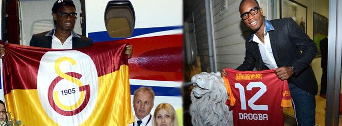 Drogba İstanbula geldi!