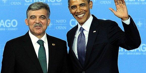 Gül, Obama ile görüştü