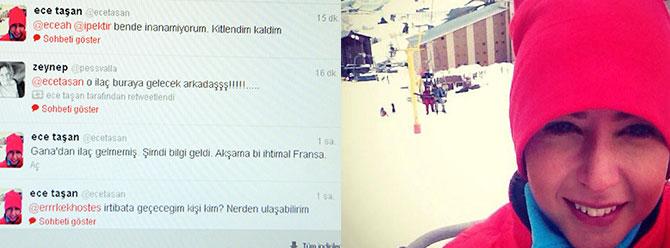 Ecenin ilacı Ankaradan geldi