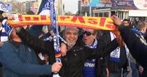 GS ve Schalke taraftarları Taksimde