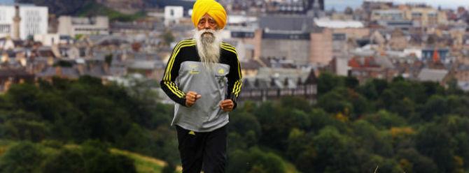 101 yaşında maraton koşacak