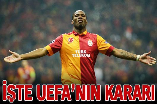 Uefanın Drogba hakkındaki kararı