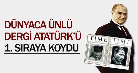 Atatürk ilk sırada !