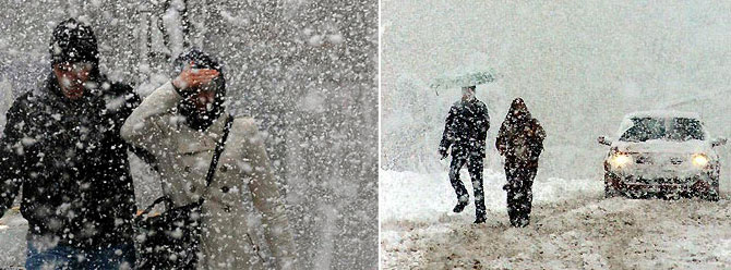 Kuvvetli kar yağışına dikkat!