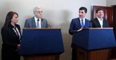 BDP heyetine Barzaniden jest