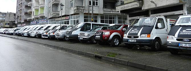 Türkiyede ikinci el minibüste söz sahibi: Samsun