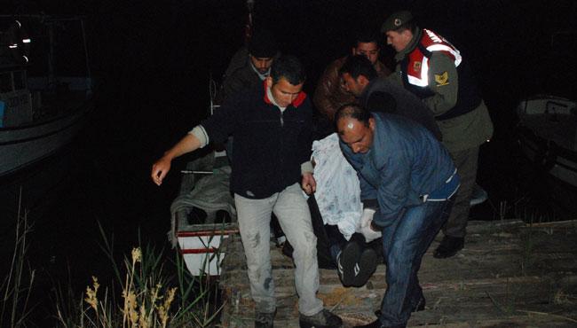 Otomobil denize uçtu: 4 ölü