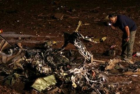 İsrailde helikopter kazası: 2 ölü