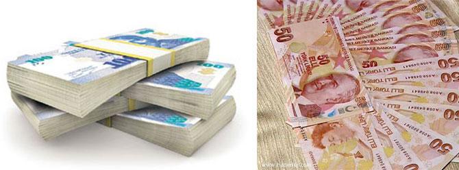 Bütçe Şubatta 1.4 milyar lira açık verdi