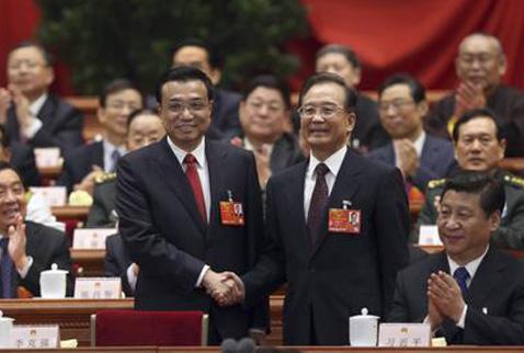 Çinde yeni başbakan görevini devraldı
