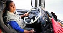 23 yıldır kamyon şoförlüğü yapıyor!