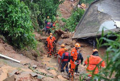 Brezilyadaki toprak kayması: 13 ölü