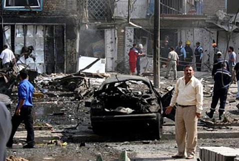 Bağdatta patlama: 5 ölü, 17 yaralı