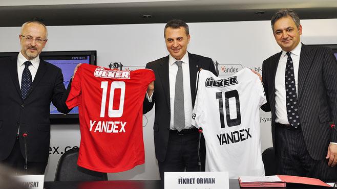 Yandex ile işbirliği
