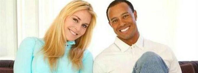 Tiger Woods ile birlikteyim
