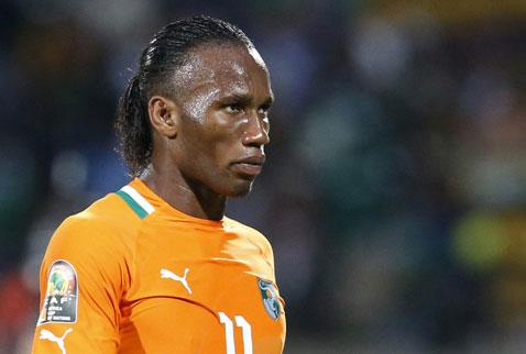 Drogba milli takım kadrosundan çıkarıldı