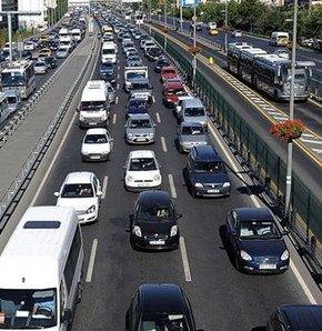 Trafikteki araç sayısı 17 milyonu geçti!