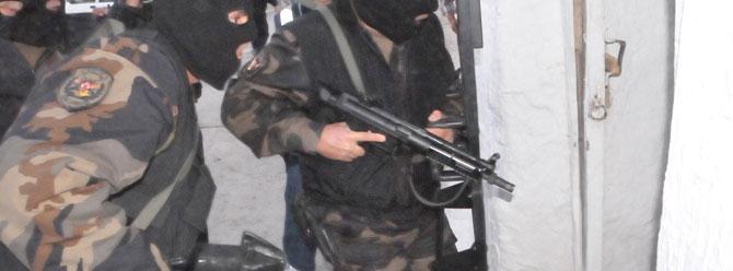 Ankarada DHKP-Cye baskın