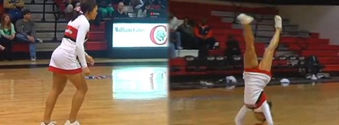 Ponpon kızdan inanılmaz basket!