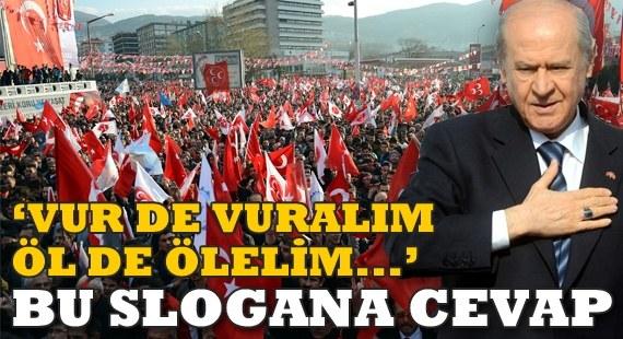 MHP Bursa Mitingi