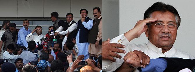 Pervez Müşerref Pakistana döndü