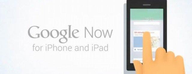 Google Now, Apple App Storea gönderilmemiş!