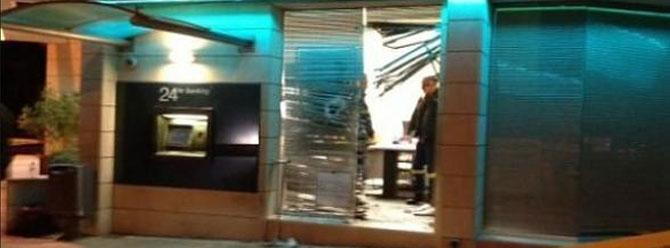 Kıbrısta bankaya bombalı saldırı!