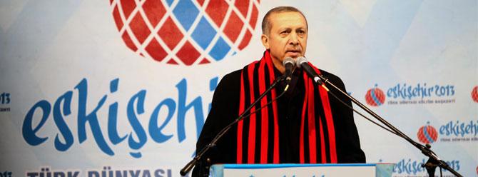 Başbakan Recep Tayyip Erdoğanın Eskişehir Gezisi