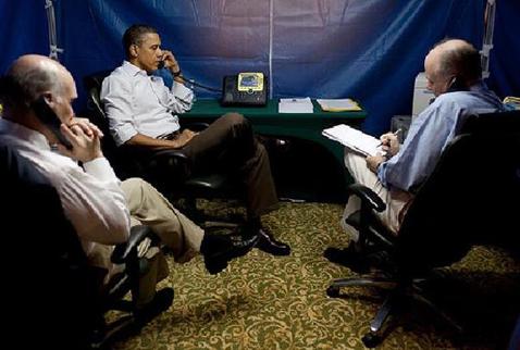 O özür Obamanın süper çadırından geldi!