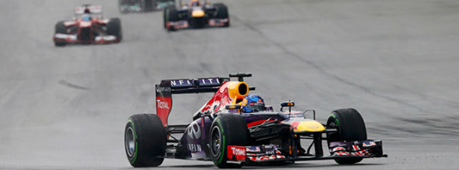 Malezya Grand Prixsi Vettelin